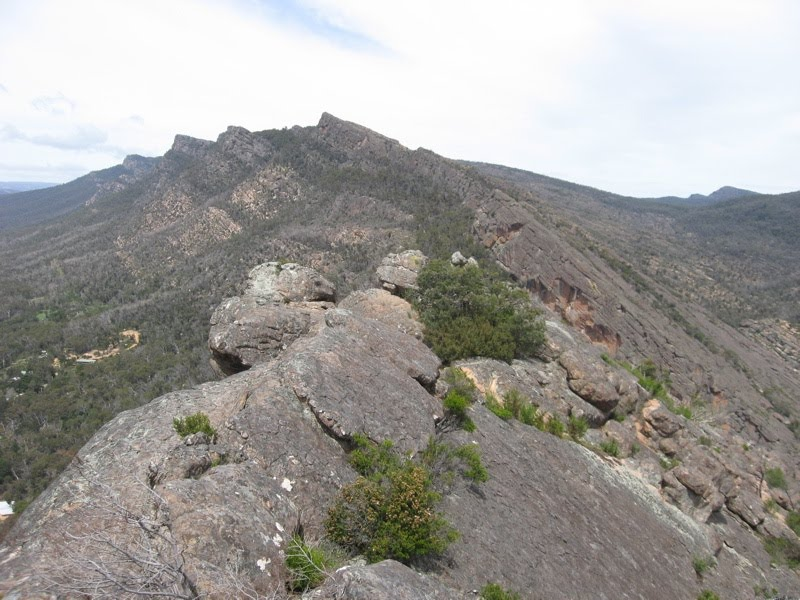 Chautauqua Peak, looking south