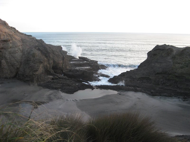 View of 'The Gap' from Tasman Lookout Track